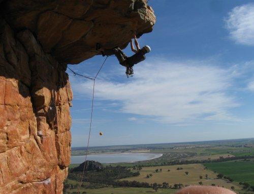 Rock Climbing at the Arapiles